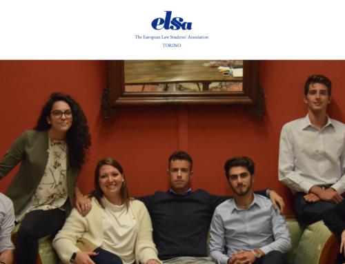 ELSA Torino, nostri nuovi partner nel settore legale!