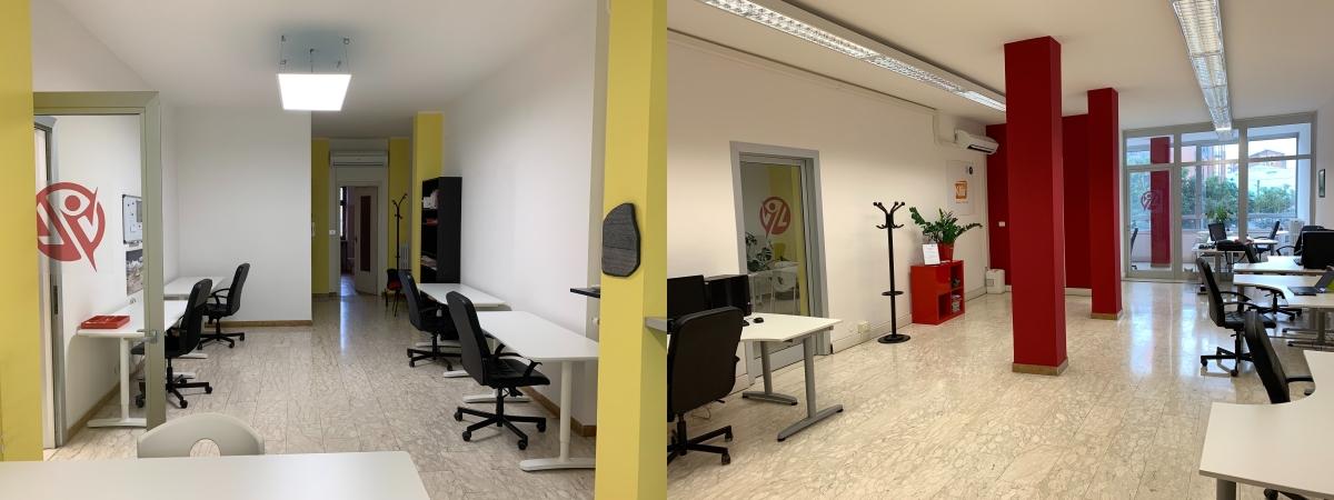 """Panoramica dei nostri """"vecchi nuovi"""" uffici!"""
