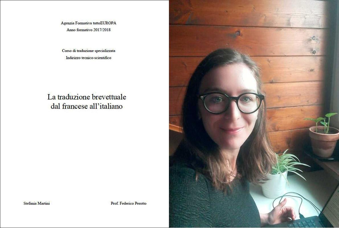 Stefania Martini - La traduzione brevettuale dal francese all'italiano
