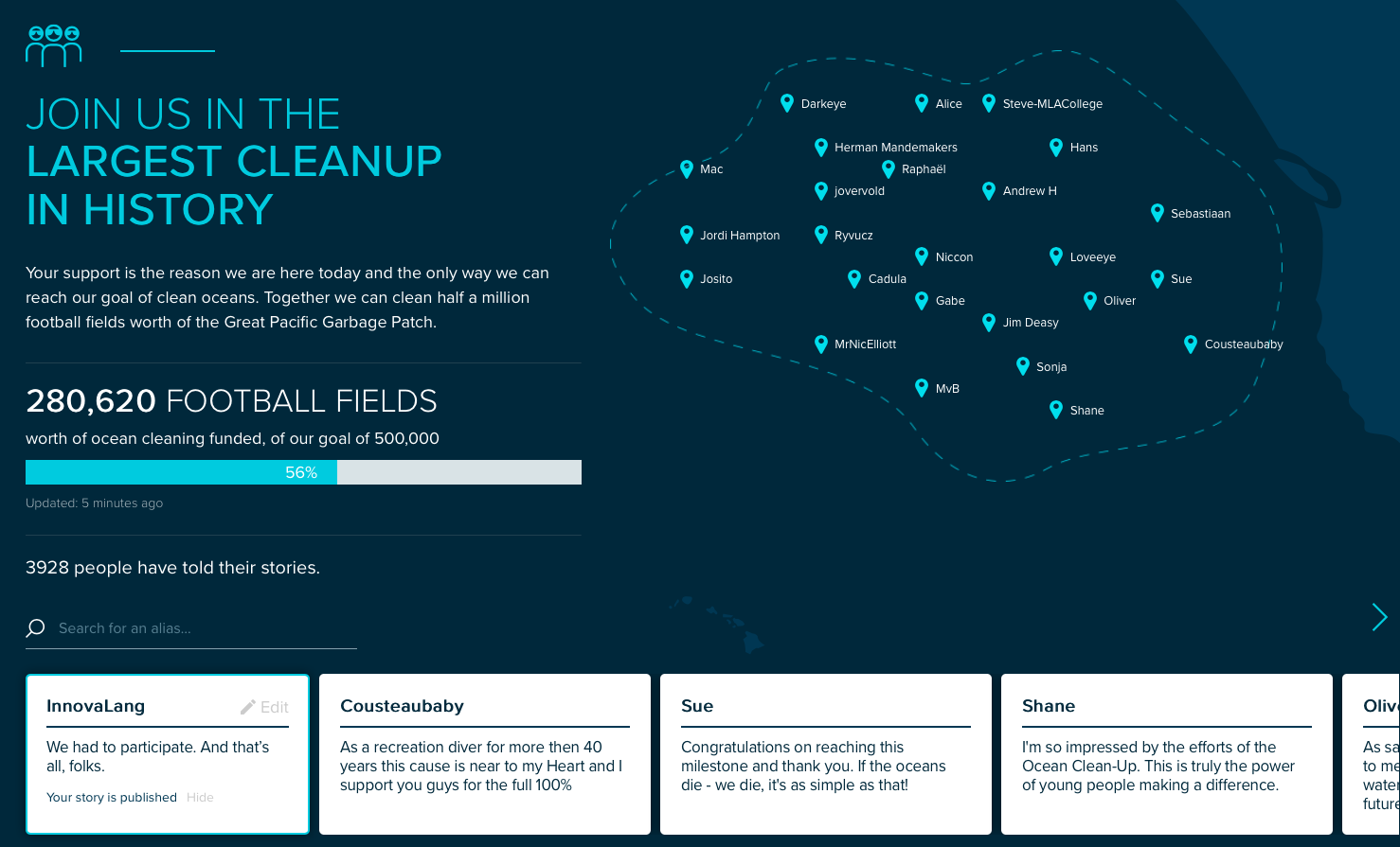 InnovaLang con The Ocean Cleanup