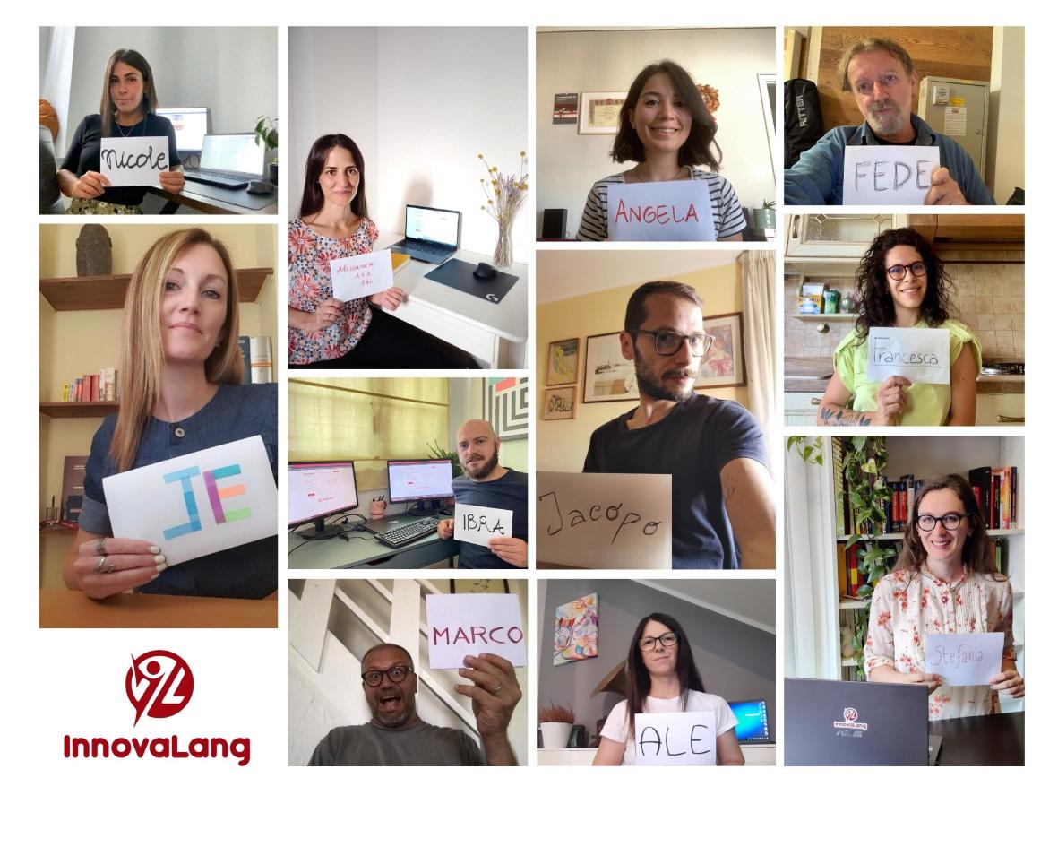 InnovaLang Traduzioni Staff in smart working